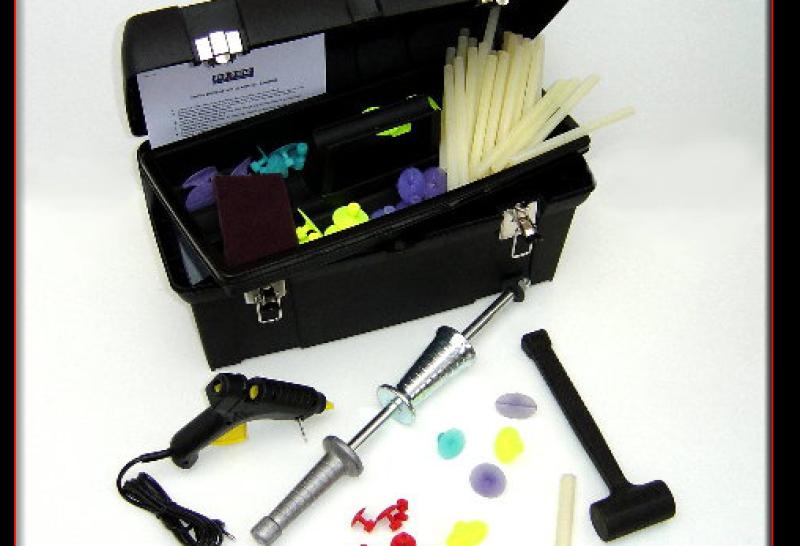 outils redressage sans peinture bordeaux